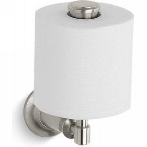 Kohler K-11056-BN Archer Vertical Toilet Tissue Holder Vibrant Brushed ...