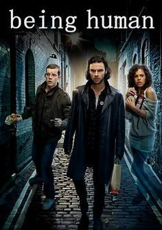 Being Human (2008–2013) - Stars: Lenora Crichlow, Russell Tovey, Aidan Turner. - A werewolf, a vampire, and a ghost try to live together and get along. - COMEDY / DRAMA / FANTASY