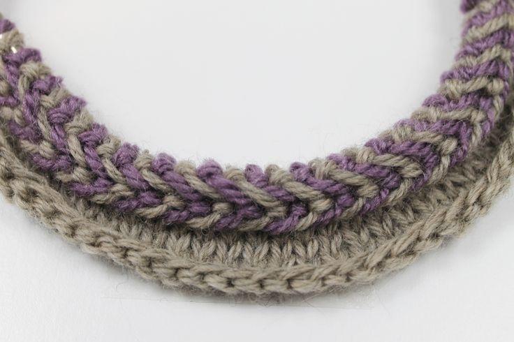 Knitting a Latvian braid  tutorial
