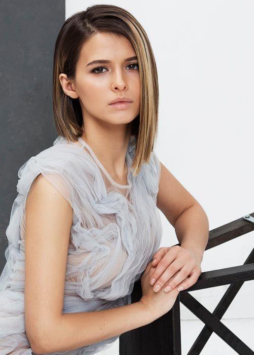Модная стрижка 2017 — косое ассиметричное каре: 14 крутых примеров — В РИТМІ ЖИТТЯ
