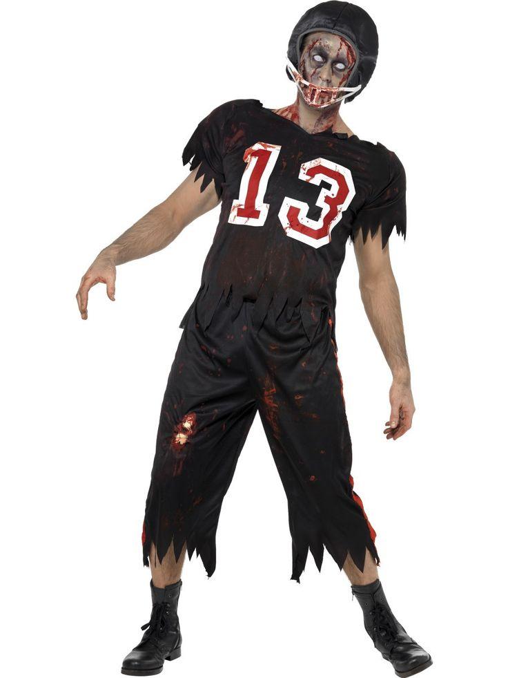 Men's High School Horror American Footballer Costume