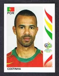 Image result for germany 2006 panini portugal costinha