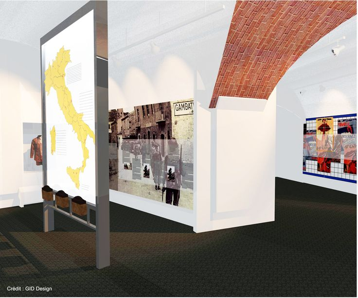 Zone 4, Italie, du futur Musée Royal 22e Régiment #MR22eR #CitadelleQuébec #Ouvertureprintemps2014