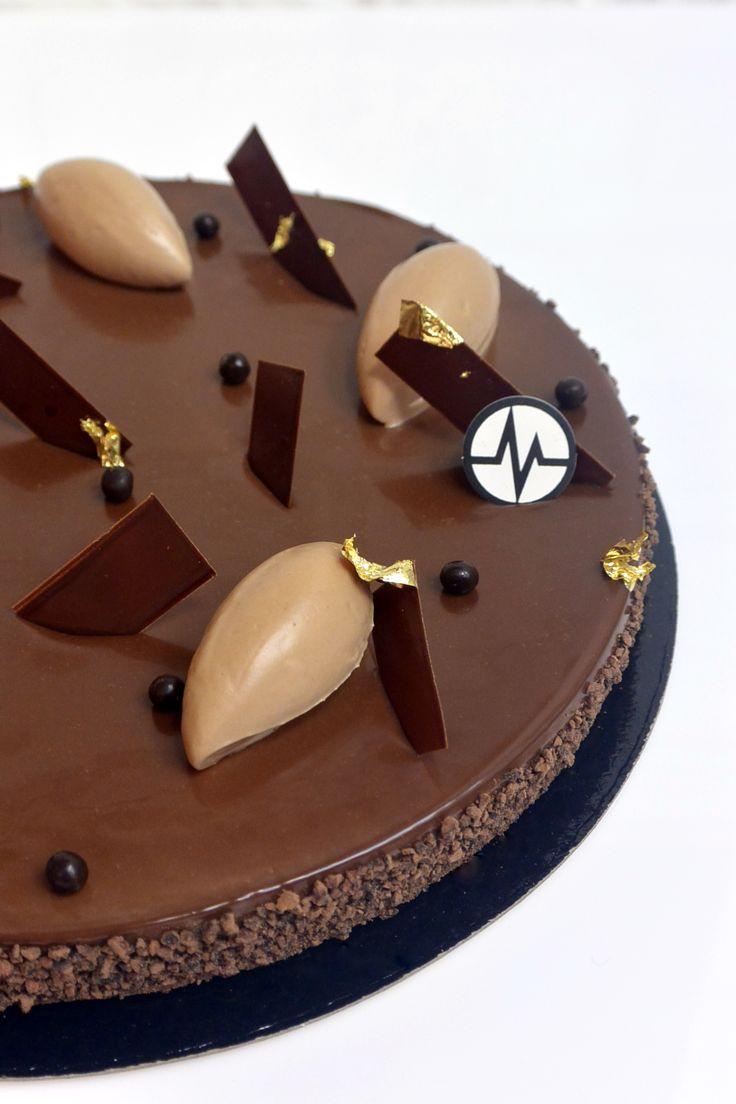 "Fantastik ""Tarte Chok"" (Chocolat, Gianduja, Grué de cacao) - Christophe Michalak"
