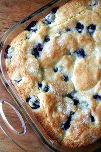 Alexandra's Kitchen Buttermilk Blueberry Breakfast Cake