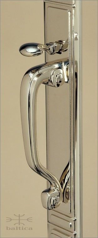 Sundance Thumblatch Polished Nickel Custom Door Hardware 2 S Handles Hinges And Pinterest Doors Front