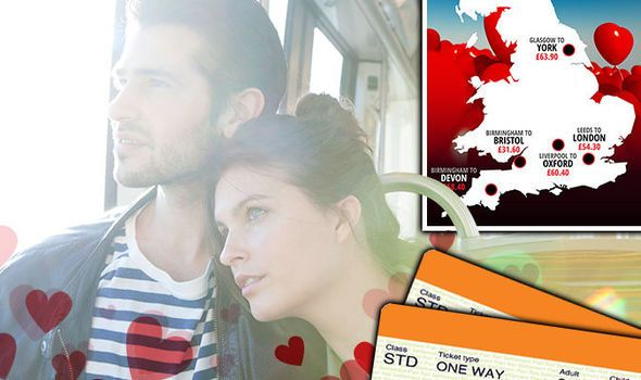 Valentines Day 2017: CHEAP last-minute train tickets to the UKs most romantic cities