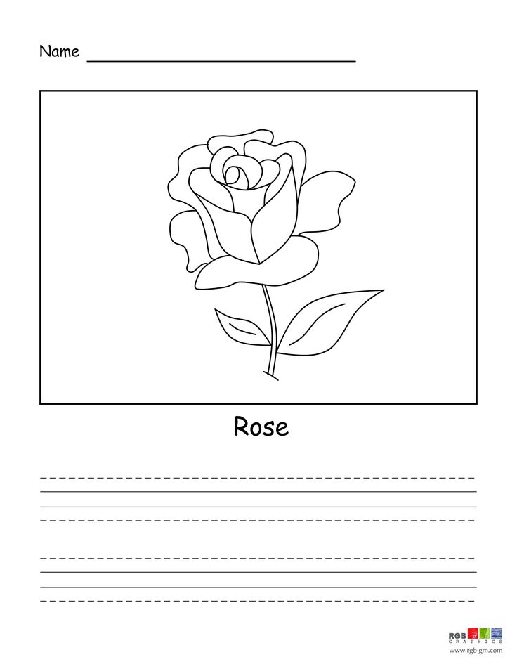 Simple drawing for your child. See step by step animated technique to draw a beautiful rose at:  https://youtu.be/gse_4611HNI