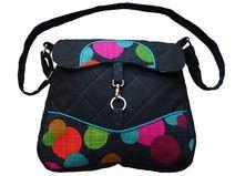 Handgemachte Unikat Tasche Handtasche Dottie #bags # handbags #handmade #Tasche #Umhängetasche #unikat #designer #handgemacht #handgefertigt