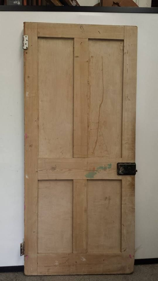 Salvaged Period 4P Door (Dipped) - Mac's Warehouse Dublin