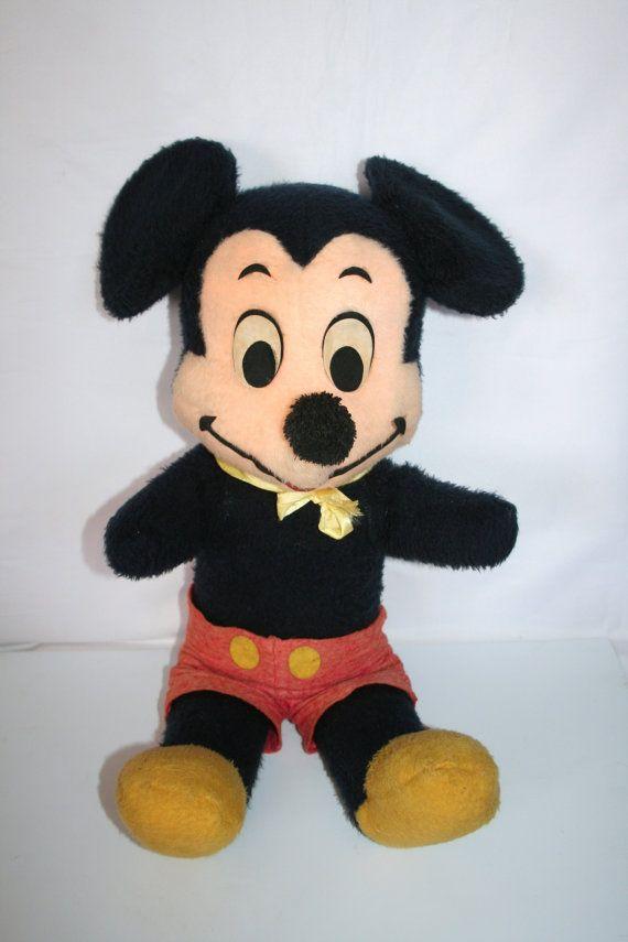 Vintage Mickey Mouse  1960s /MEMsArtShop. by MEMsArtShop on Etsy