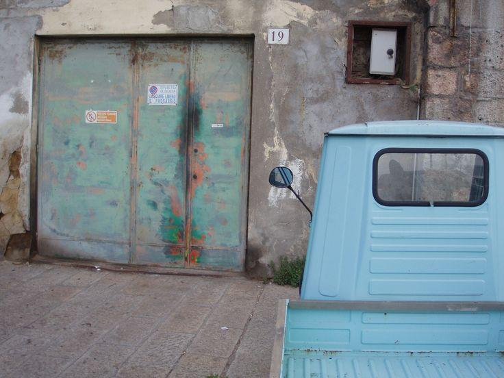 Ape in the streets of Porto Santo Stefano, at Argentario, Tuscany