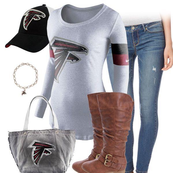 Cute Atlanta Falcons Outfit