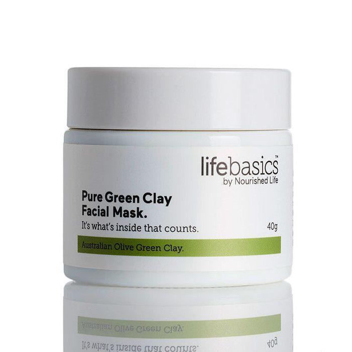 Life Basics Pure Green Clay Facial Mask