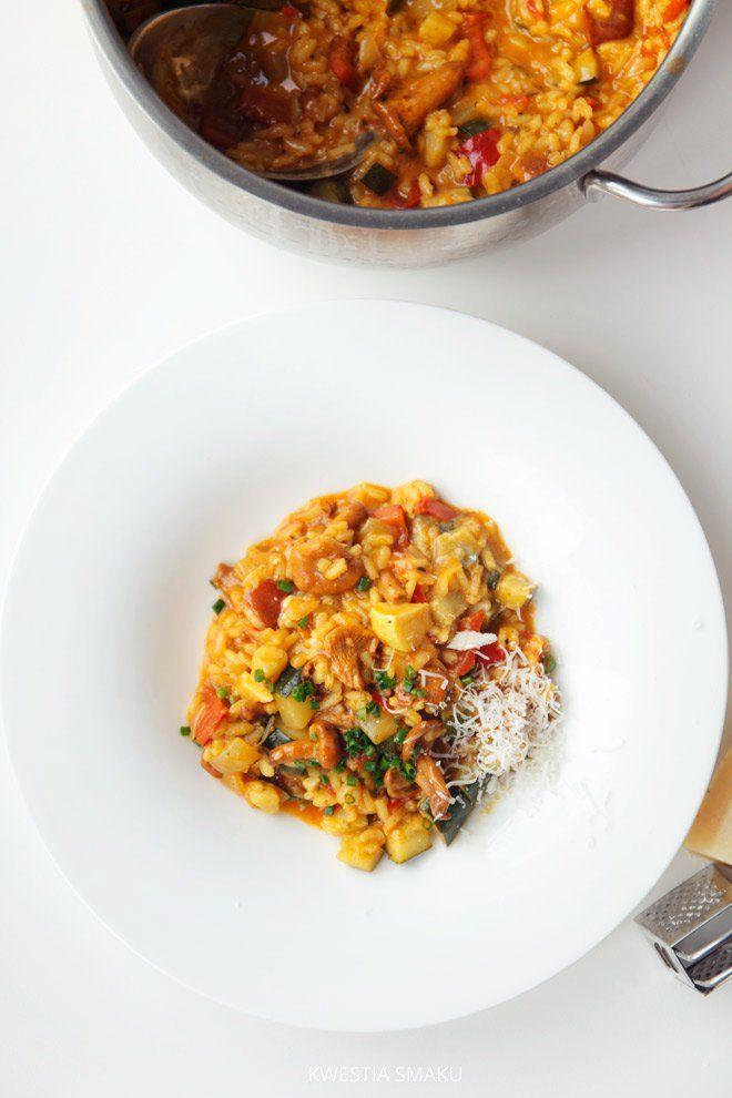 Risotto z warzywami (wegetariańskie)
