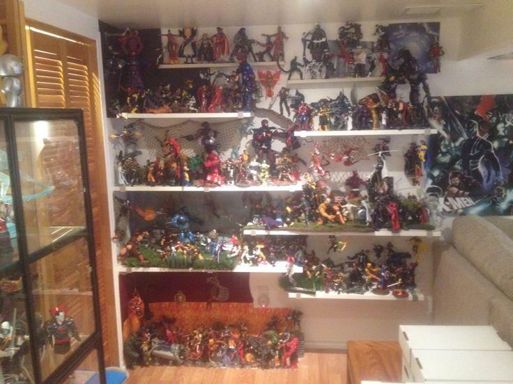 New Marvel Legends setup finally done.