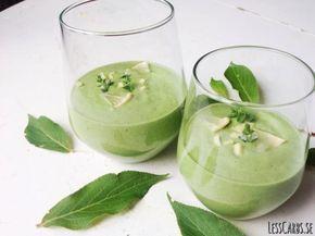 Recept: Grön avokado/lime/ingefärssmoothie