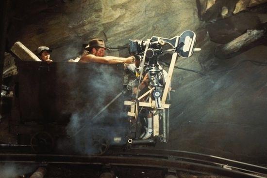Filming Temple Of Doom.