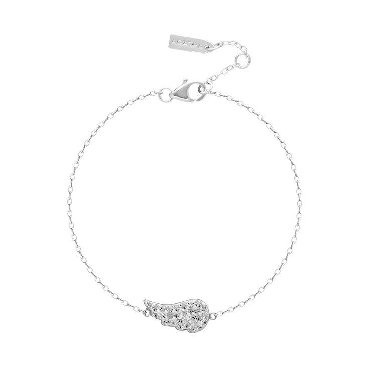 Ceramic Angel Wing Bracelet in Swarovski Crystal $104NZD  http://www.agatha.co.nz/agatha-paris-bracelets.html