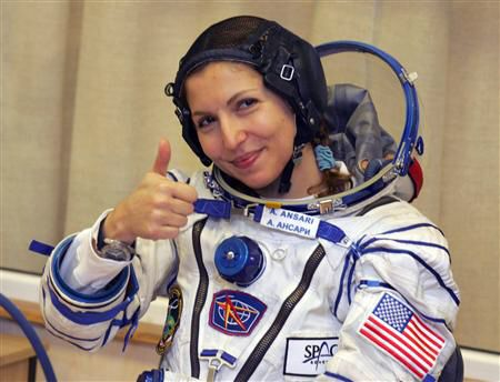 Our #wcw is Anousheh Ansari the first Muslim woman in space. In 2006, Iranian-American entrepreneur Anousheh became the first female space tourist when she funded her own way to the International Space Station  firm Space Adventures. Anousheh is an engineer, co-founder and chairwoman of Prodea Systems. Anousheh hopes to inspire everyone especially young people, women and young girls all over the world