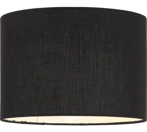 Buy ColourMatch Fabric Shade - Jet Black at Argos.co.uk, visit Argos.co.uk to shop online for Lamp shades, Lighting, Home and garden