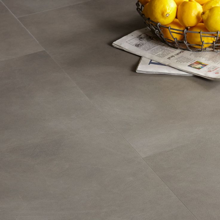 Colours Grey Modern Stone Effect Luxury Vinyl Click Tile