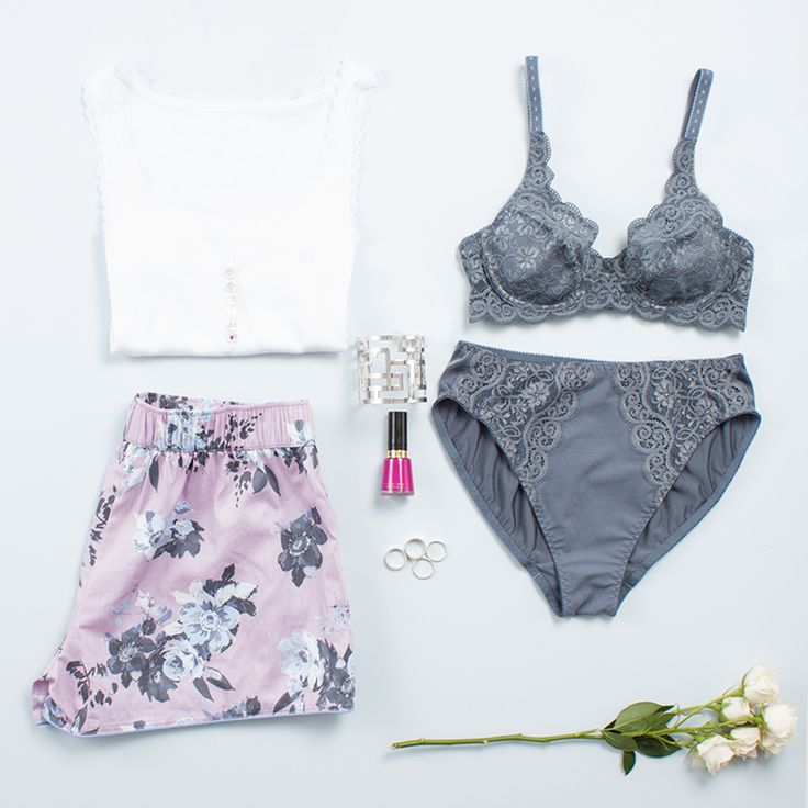 Feel the colour inspiration with these soft, floral tones this season. Photographed: