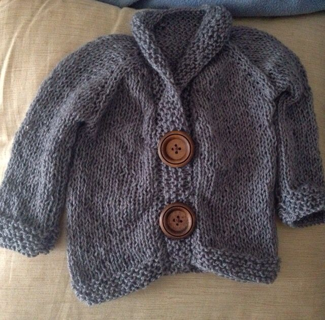 Gorgeous little knitted sweater made for my nephew using this pattern as a base https://stockinette.wordpress.com/2009/04/06/baby-sophisticate/