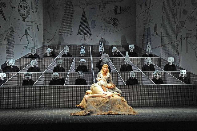 Glyndebourne's production of The Rake's Progress, with designs by David Hockney.