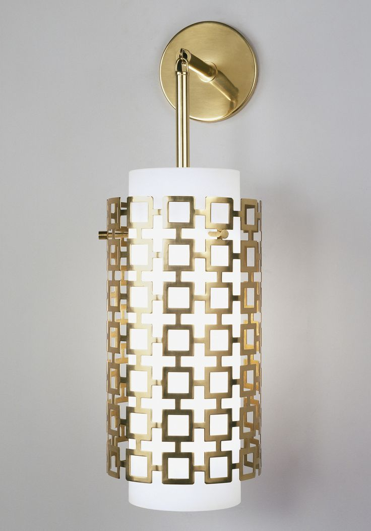 robert abbey jonathan adler parker pendant wall sconce in antique brass idea for master bath sconce