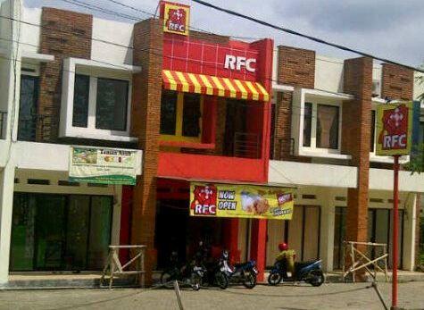 Rocket Fried Chicken in Medan, Sumatera Utara