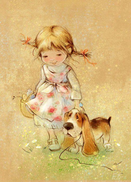 Девчушки,Зверюшки Екатерины Бабок.... Обсуждение на LiveInternet - Российский Сервис Онлайн-Дневников
