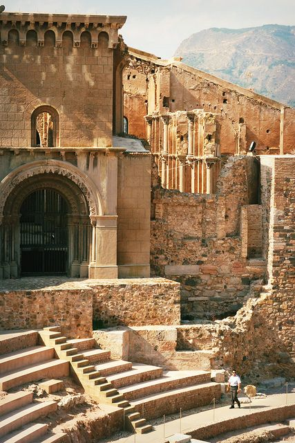 The Roman Theatre of Cartagena, 13 c. |  Cartagena, Spain