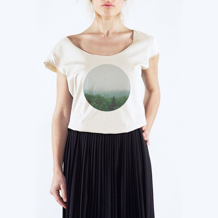 Silvia Sani - Acadia National Park -T-Shirt Uneck - 24€