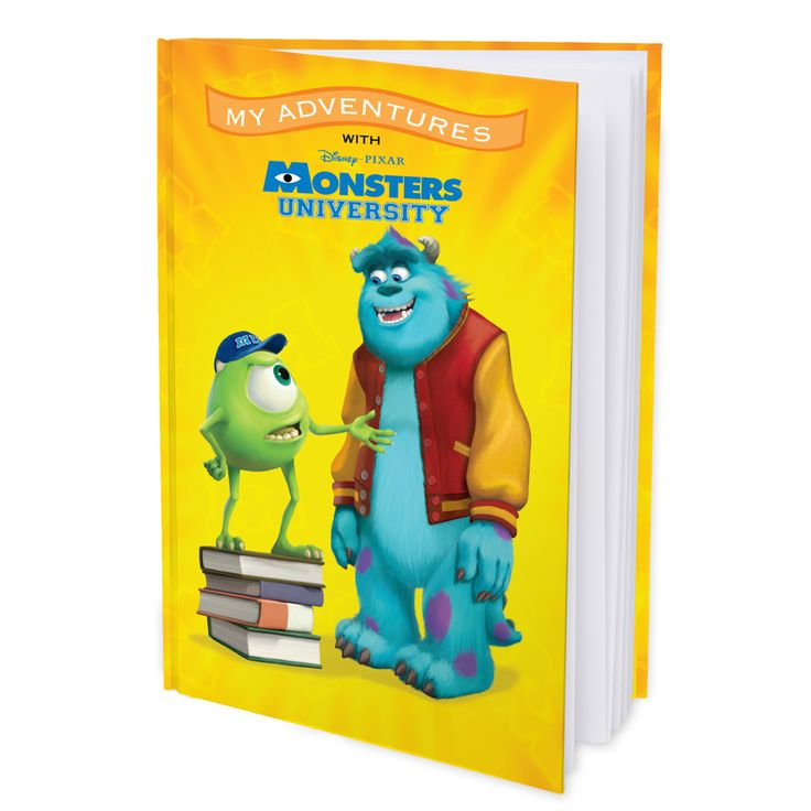 My Adventures with Disney Pixar Monsters University - 8x11 Hard Cover Book - Personalized Books - Books   Tv's Toy Box