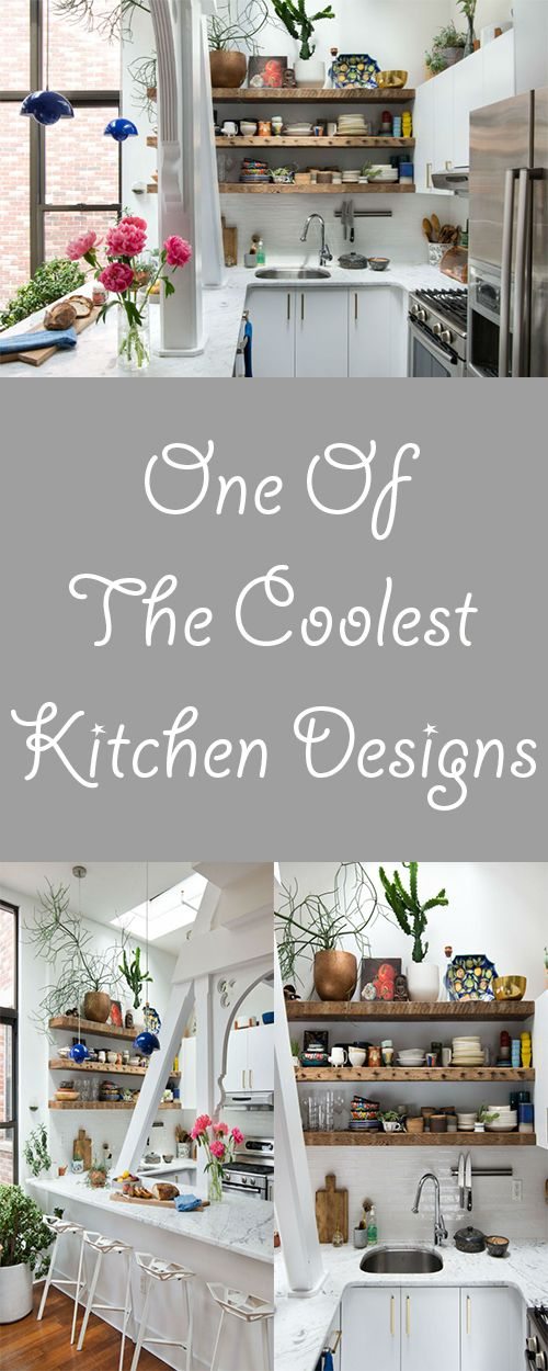 One of the coolest kitchen designs
