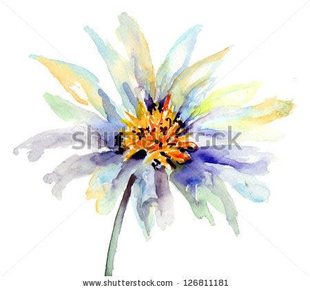 1000 images about tattoo ideas on pinterest watercolors for Abstract watercolour flowers