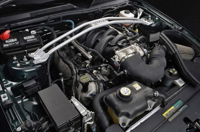 2018 Ford Mustang Engine