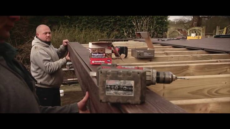 How To Install Composite Deck Boards