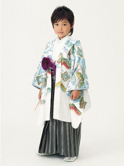 スタジオアリス限定、ベッキーデザインの着物(5歳)