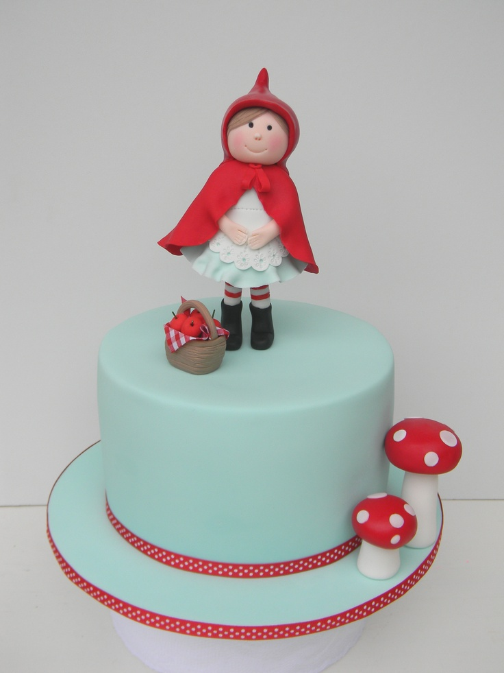 Little Red Riding hood cake by Just call me Martha