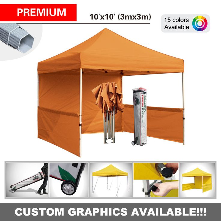 10x10 Easy Pop Up Canopy Tent Commercial Flea Market Fair Craft Trade Show Booth  sc 1 st  Pinterest & 83 best Vendor Booth Ideas images on Pinterest | Craft booth ...
