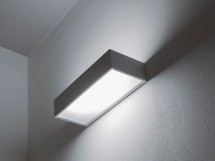 Lámpara de pared fluorescente de vidrio ECO by DAVIDE GROPPI …