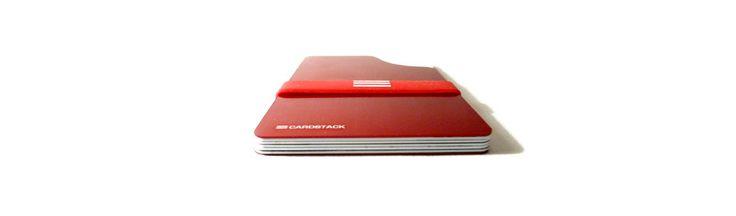 Meet CARDSTACK. Ultra slim, lightweight and RFID blocking wallet.