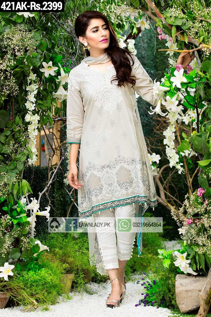BUY Alkaram Replica Linen 2016 3Pcs Embroidered Suit Design#421AK. **FREE Delivery COD**LIMITED STOCK**VISIT TODAY**