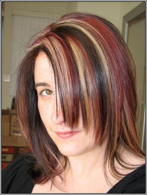 The 25 best brown hair with full head of blonde highlights ideas brown hair with blonde and red highlights pictures brown hair fashion styles reference pmusecretfo Choice Image