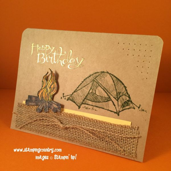 1000 Images About Stampin Up Great Outdoors On Pinterest
