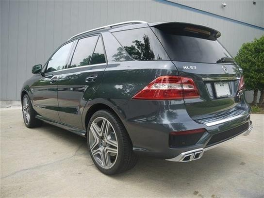 2012 Mercedes-Benz ML63 AMG 4Matic with 1,554 miles for sale in Atlanta, GA for $103,900 #Mercedes #Atlanta