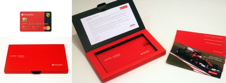 Santander Ferrari Credit Card - Welcome Kit (2010)
