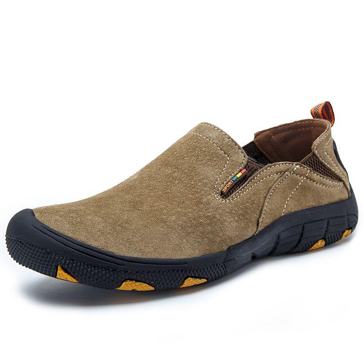 Scarpe da trekking Impermeabili In Pelle di Marca Degli Uomini 2016 Uomini All'aperto Scarpe Scarpe Da Trekking di Montagna Alpinismo Impermeabile Athletic Shoe